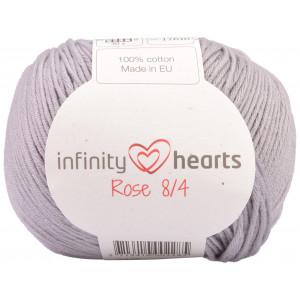 Infinity Hearts Rose 8/4 Garn Unicolor 232 Lys Grå