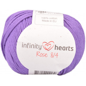 Infinity Hearts Rose 8/4 Garn Unicolor 69 Lilla