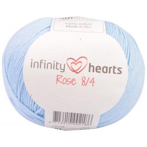 Infinity Hearts Rose 8/4 Garn Unicolor 81 Lys Blå