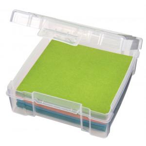 Bilde av Artbin Plastboks Til Stoff/filt Og Tilbehør Transparent 16x17x5,5cm