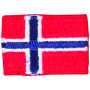 Strykemerke Flagg Norge 3x2cm - 1 stk
