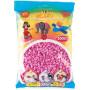 Hama Midi Perler 201-48 Pastell Pink - 3000 stk