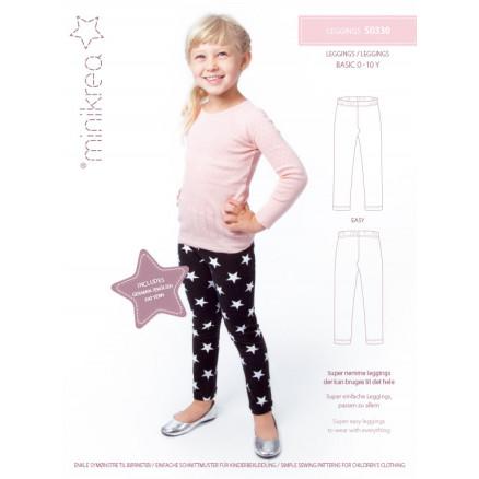 bae0815cf847 MiniKrea Snittmønster 50330 Leggings str. 0-10 år - Ritohobby.no