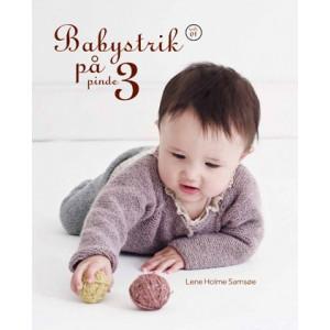 Babystrik på pinde 3 Hæfte 1 - Bok av Lene Holme Samsøe