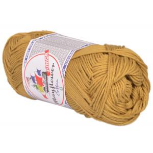 Mayflower Cotton 8/4 Junior Garn Unicolor 1433 Lys Oliven