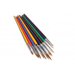 Bilde av Artino Akvarell Penselsett Hard Pensel Ass. Størrelser - 9 Stk