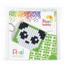 Pixelhobby Gaveeske Nøkkelringsett Panda 3x4cm