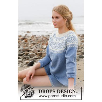 Periwinkle DROPS 191 1 Gratis strikkeoppskrifter fra