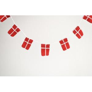 Flaggranke av KreaLoui - Flagg Hekleoppskrift