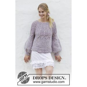 Fair Lilyby DROPS Design - Bluse Strikkeopskrift str. S - XXXL