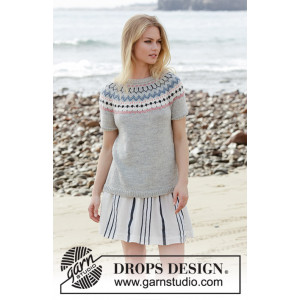 Minaby DROPS Design - Top Strikkeopskrift str. S - XXXL