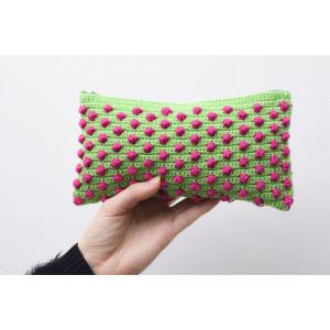 Boblepung av Aslan Design - Pung Hekleoppskrift