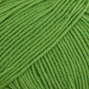 Drops Baby Merino Garn Unicolor 31 Sterk Grønn