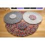 Filtkuleteppe oppskrift av Rito Krea - DIY-teppe 20-200cm