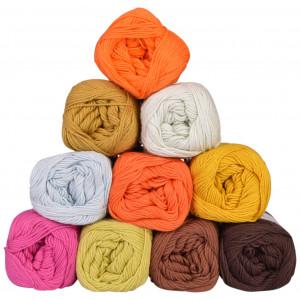 Mayflower Cotton 8/4 Junior Garnpakke 01 Ass. farger - 10 nøster