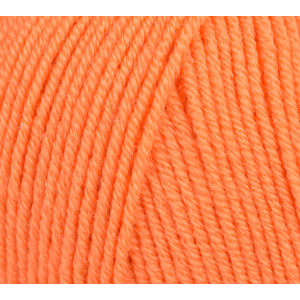 Infinity Hearts Baby Merino Garn Unicolor 18 Oransje