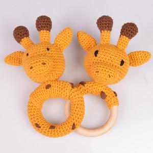 Giraff Rangler av Rito Krea - Rangle Hekleoppskrift 16cm