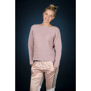 Mayflower Rosa raglan genser - Genser Strikkeoppskrift str. S - XXXL