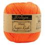 Scheepjes Maxi Sugar Rush Garn Unicolor 189 Kongelig Oransje