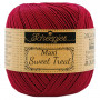 Scheepjes Maxi Sweet Treat Garn Unicolor 517 Rubin