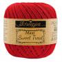 Scheepjes Maxi Sweet Treat Garn Unicolor 722 Rød