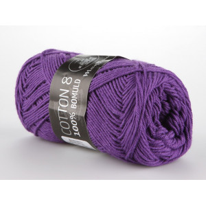 Mayflower Cotton 8/4 Garn Unicolor 1477 Lilla