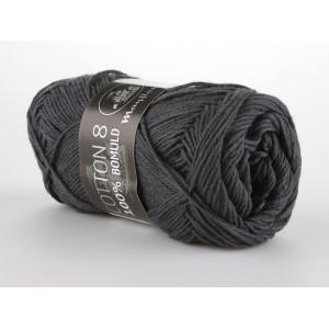 Mayflower Cotton 8/4 Garn Unicolor 1442 Mørk Grå