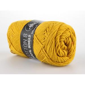 Mayflower Cotton 8/4 Garn Unicolor 1435 Sennepsgul