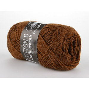Mayflower Cotton 8/4 Garn Unicolor 1432 Brun