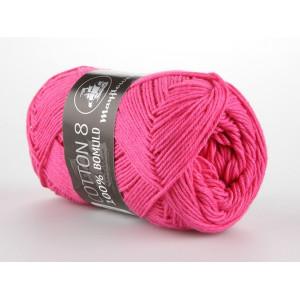 Mayflower Cotton 8/4 Garn Unicolor 1410 Rosa