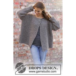Willow Lane Jacket by DROPS Design - Jakke Strikkeoppskift str. S - XXXL