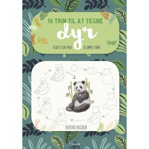 Bilde av 10 Trint Til å Tegne Dyr - Bok Av Heather Kilgour
