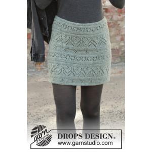 Mint Tulip by DROPS Design - Underdel Strikkeoppskrift str. S - XXXL