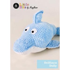 Mayflower Little Bits Delfinen Dolly - Bamse Hekleoppskrift