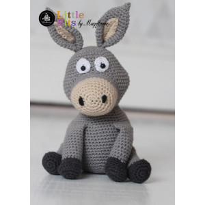 Mayflower Little Bits Eselet Donkey - Bamse Hekleoppskrift