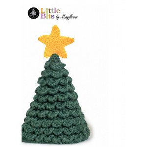 Mayflower Little Bits Juletre - Juletre Hekleoppskrift