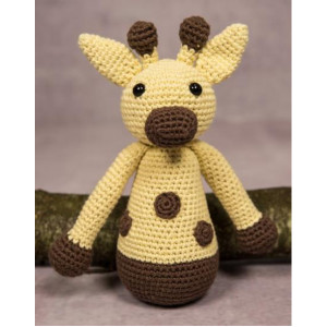 Mayflower Little Bits Giraffen Gert - Bamse Hekleoppskrift