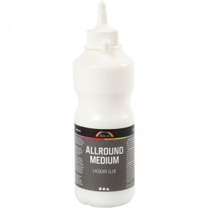 Allround medium limlakk, 500 ml