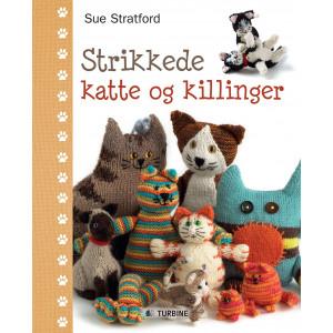 Strikkede katte og killinger - Bok av Sue Stratford