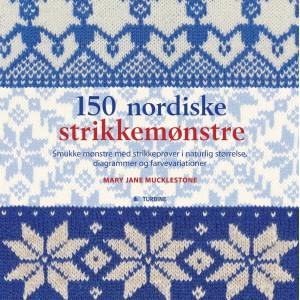 150 nordiske strikkemønstre - Bok av Mary Jane Mucklestone