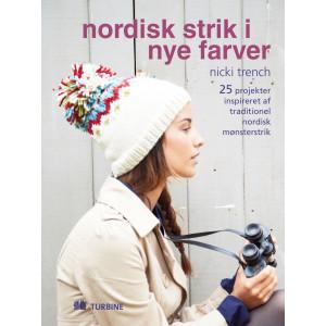 Nordisk strik i nye farver - Bok av Nicki Trench