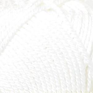 Järbo Tropik Garn Unicolor 55010 Hvit