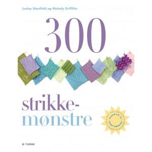 Bilde av 300 Strikkemønstre - Bok På Dansk Av Lesley Stanfield Og Melody Griff