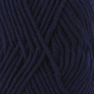 Drops Big Merino Garn Unicolor 17 Marineblå