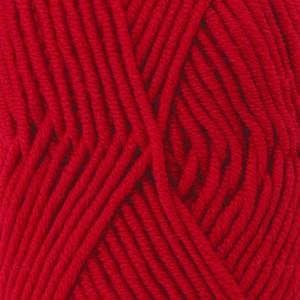 Drops Big Merino Garn Unicolor 18 Rød