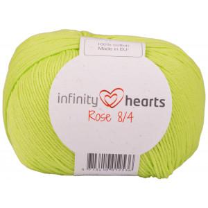 Infinity Hearts Rose 8/4 Garn Unicolor 145 Limegrønn