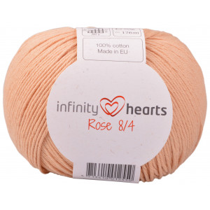 Infinity Hearts Rose 8/4 Garn Unicolor 242 Lys Terracotta
