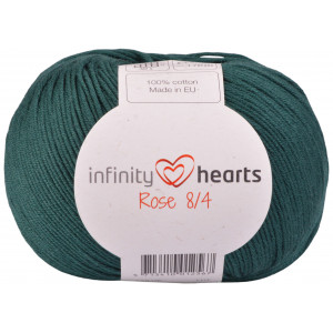 Infinity Hearts Rose 8/4 Garn Unicolor 241 Petroleumsgrønn