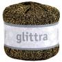 Järbo Glittra Garn 18104 Gull/Sort