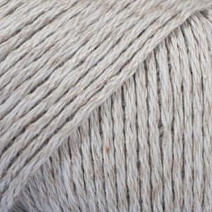 Drops Bomull-Lin Garn Unicolor 15 Lys Grå